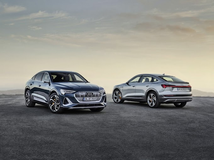 The first fully electric production crossover (sportback) from Audi