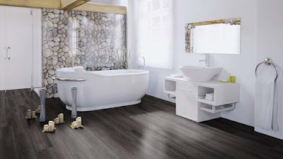 Memilih lantai vinyl untuk Dapur atau Kamar mandi