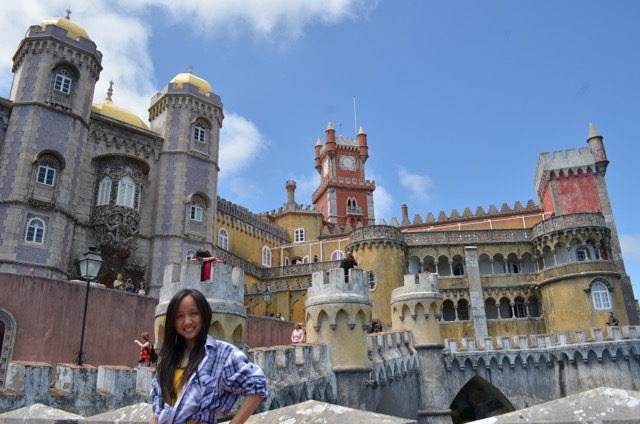 Pena Castle, Sintra, Portugal, Miss Happy Feet, Vivian Lee