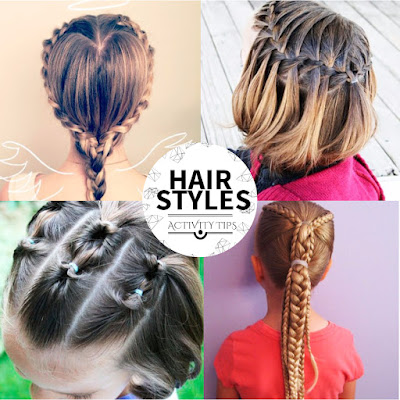 Simple and Easy Hairstyles for School girls