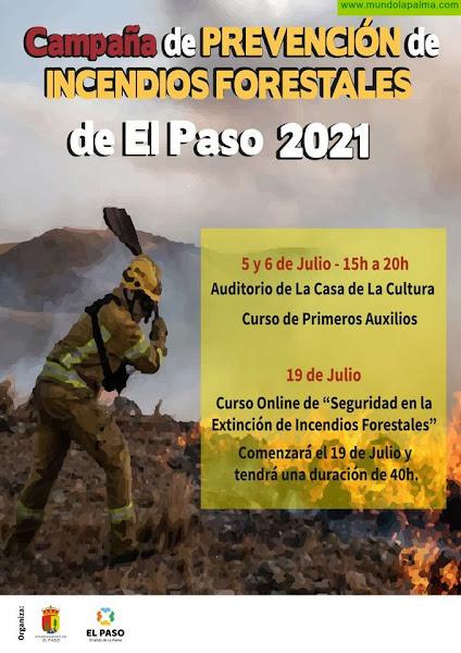 Voluntarios de El Paso para las Campañas de Prevención de Incendios Forestales se formarán en Técnicas de Prevención y Primeros Auxilios
