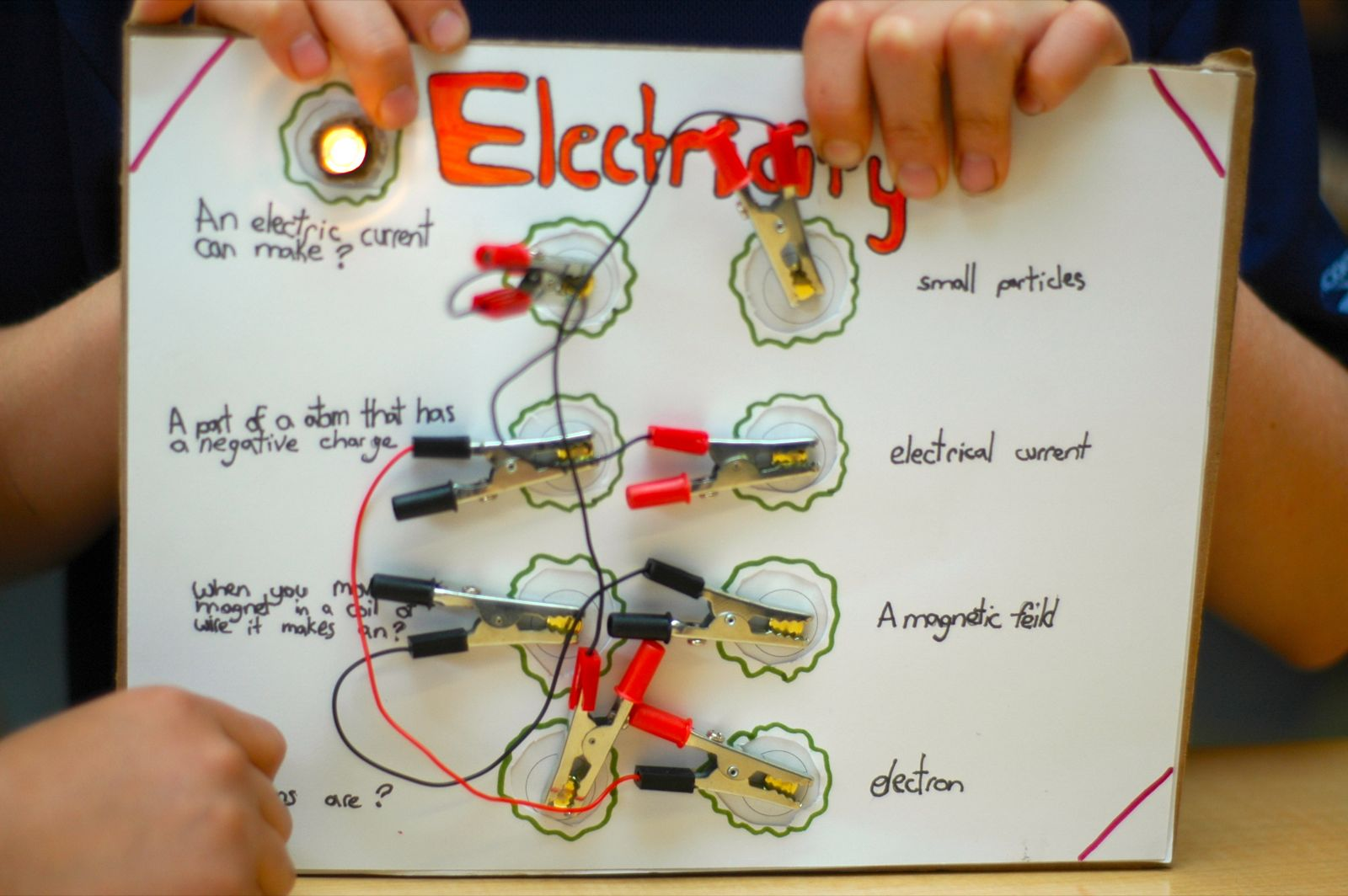 Grade 5 Circuit Game Boards