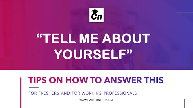 Image for Tell me about yourself, interview tips