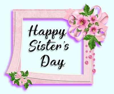 happy sister day whatsapp status hindi image