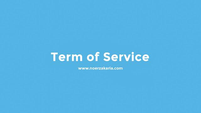 term of service noer zakaria