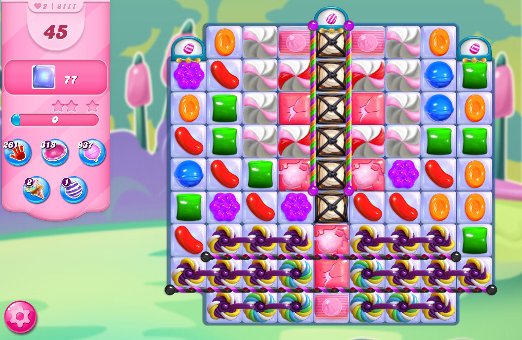 Candy Crush Saga level 8111