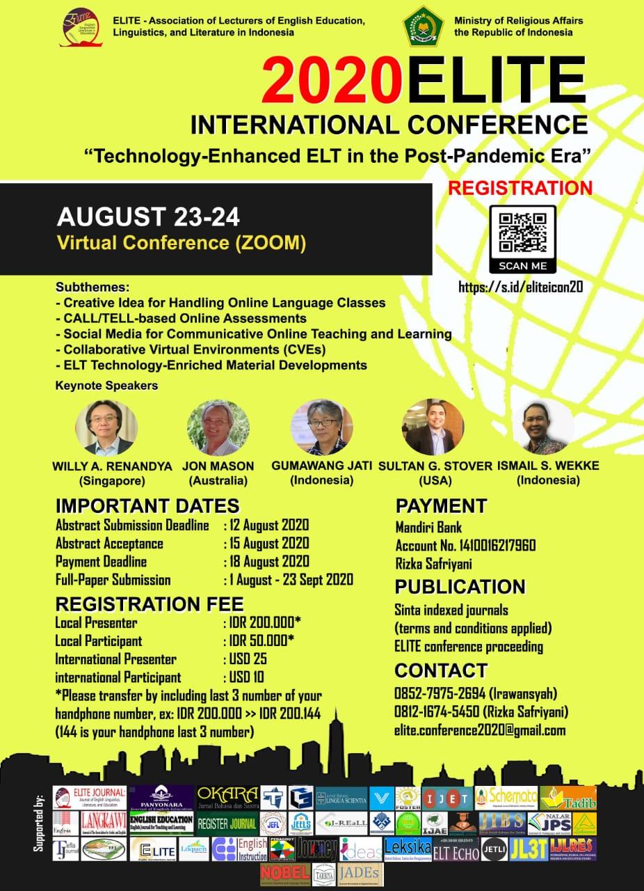 https://www.elitejournal.org/index.php/ELITE/8th_ELITE_International_Conference