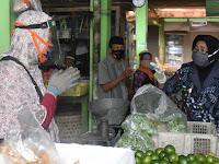 Cegah Klaster Baru   Corona,  Warga Sleman Dihimbau Belanja Secara Online Di Pasar Tradisional