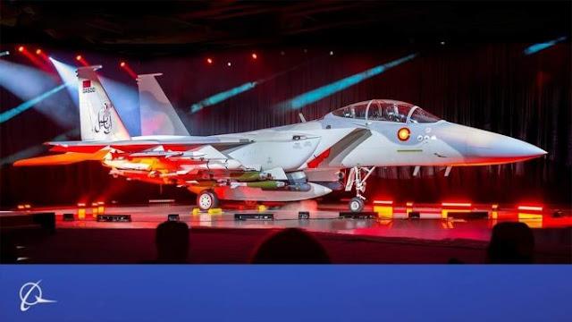 Boeing Luncurkan F-15 Ababil Pesanan Qatar