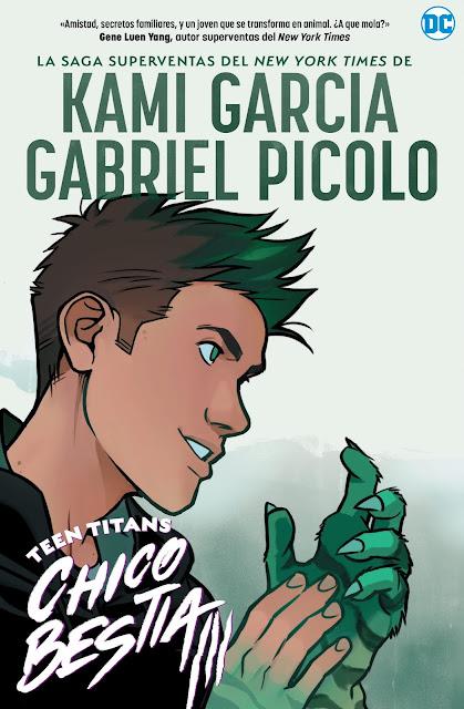 Review del cómic Teen Titans: Chico Bestia de Kami Garcia y Gabriel Picolo - Editorial Hidra