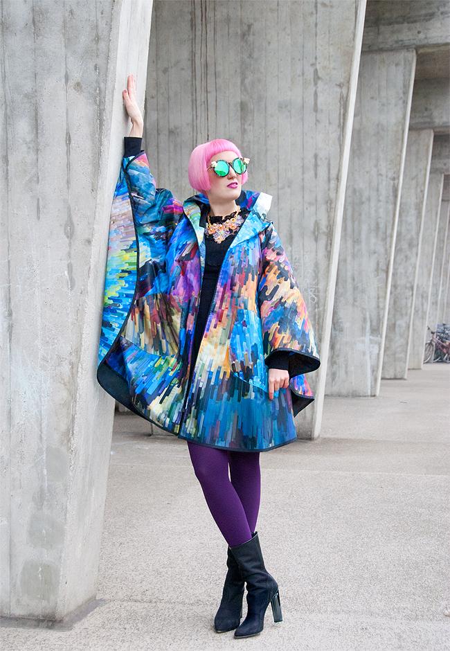 maxjenny!, raincape, fashionblogger
