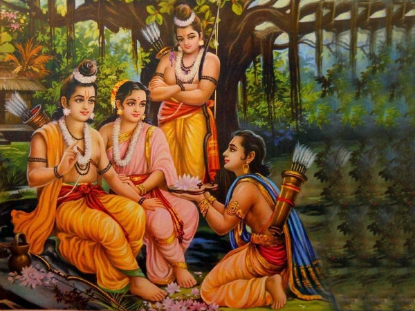 Ramayana Chapter 13 - Bharatha's Appeal to Rama