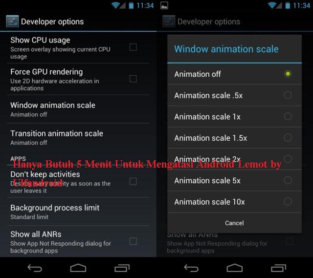 Hanya Butuh 5 Menit Untuk Mengatasi Android Lemot