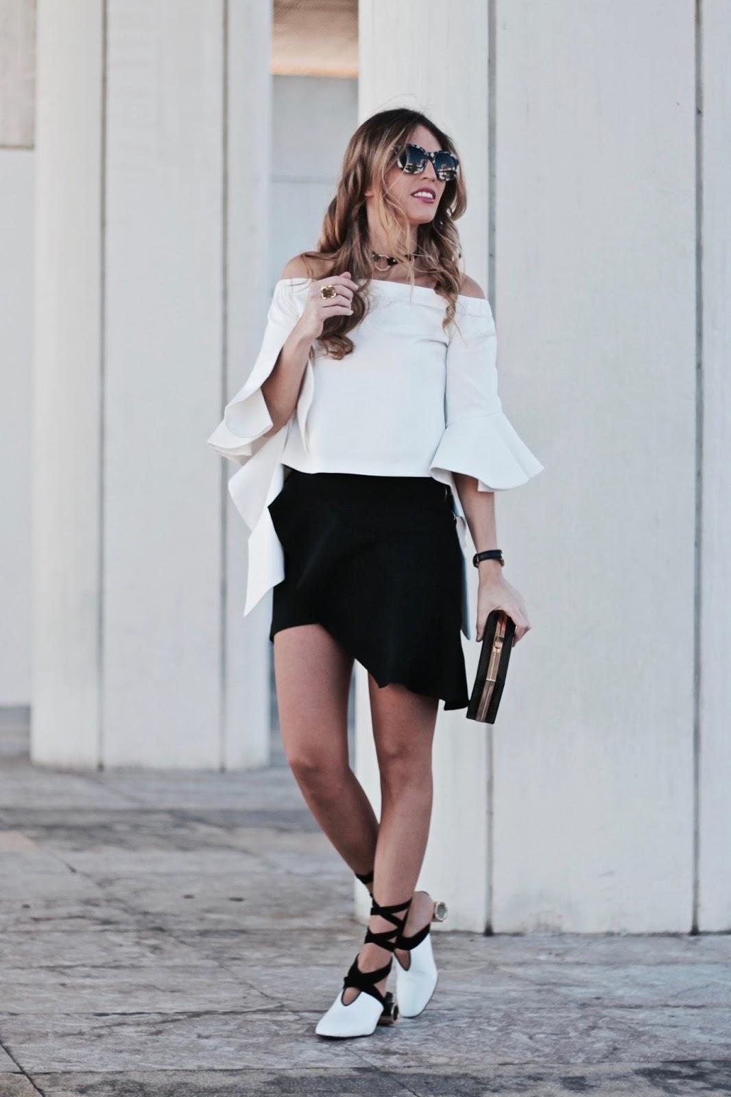 claves para un look en blanco y negro