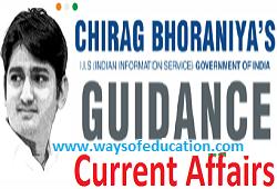 JAN-19 TO MAY-19 CURRENT AFFAIRS BY CHIRAG BHORANIYA