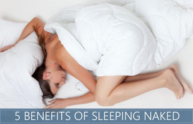 5 Benefits Of Sleeping Naked