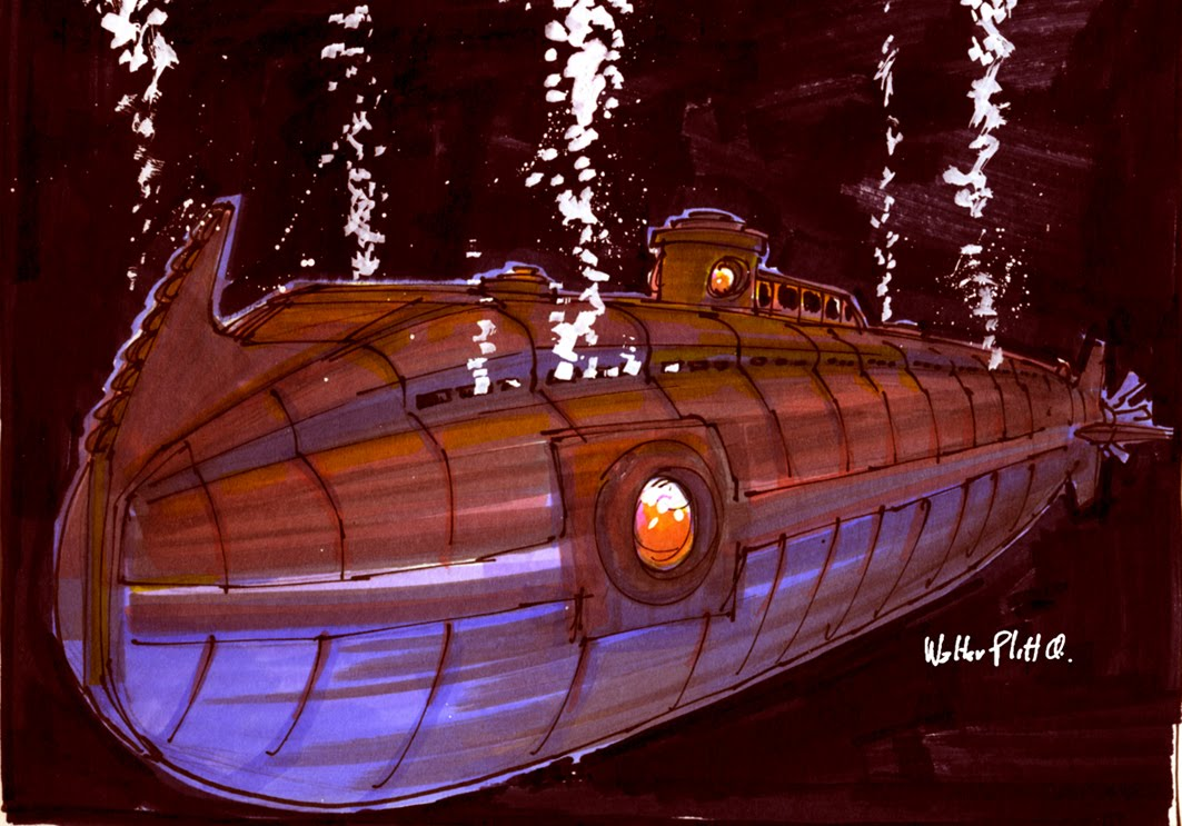 картинки корабль наутилус сути