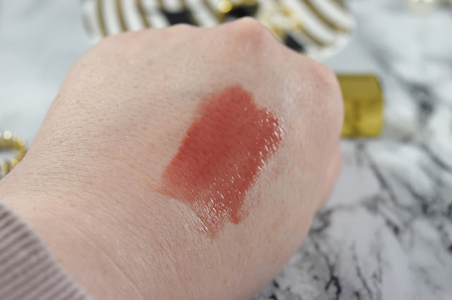 MAC X Caitlyn Jenner Cremesheen Glass in Beautifully Bare Swatch