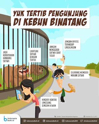 mengamati peraturan yang ada dikebun binatang www.jokowidodo-marufamin.com