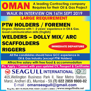 Contracting Company for their Oil & gas