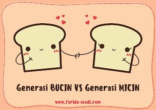 Generasi BUCIN VS Generasi MICIN