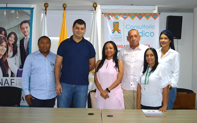 Uniguajira y  Asociación de Comerciantes de Riohacha formalizaron convenio de cooperación