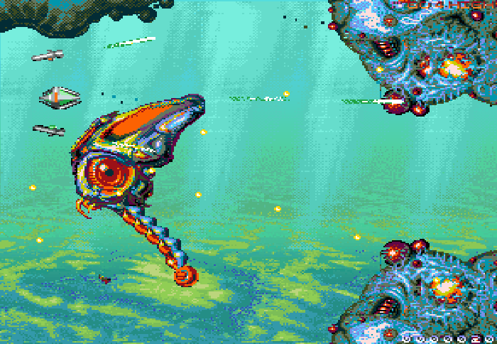 Indie Retro News: RESHOOT R - An awesome looking Amiga game
