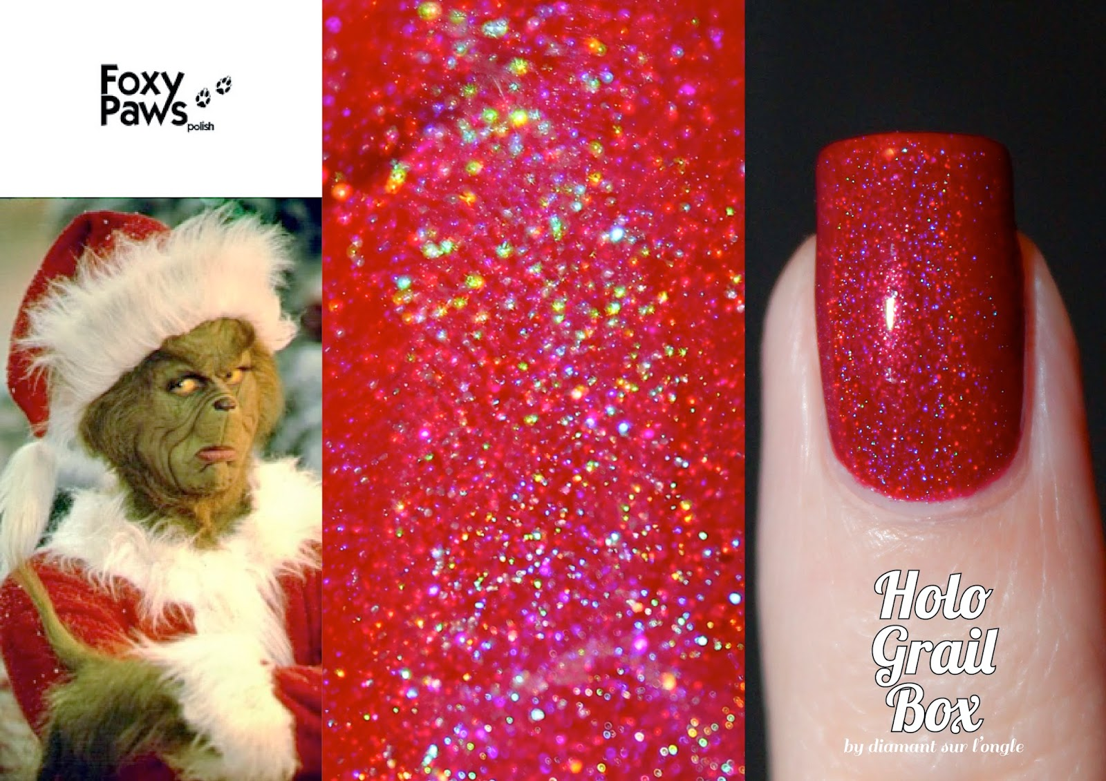 Holo Grail Box December 2014 : The Grinch Who Stole Christmas