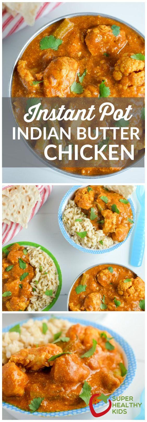 Instant Pot Indian Butter Chicken Recipe