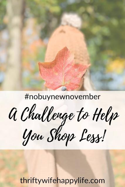 Shop less challenge