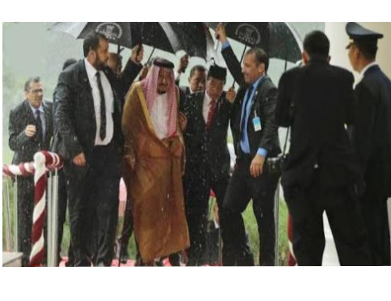Presiden Jokowi yang Peduli dengan Raja Salman