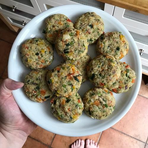 Fisch-Gemüse-Frikadellen