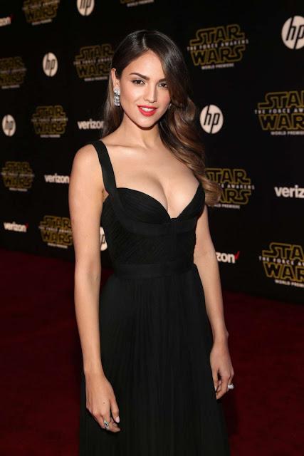 Eiza Gonzalez – 'Star Wars: The Force Awakens' Premiere