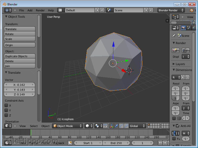 Download Free Software: Blender 2.63 Free Download ...