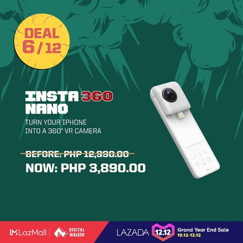 Insta360 Nano for only Php3,890