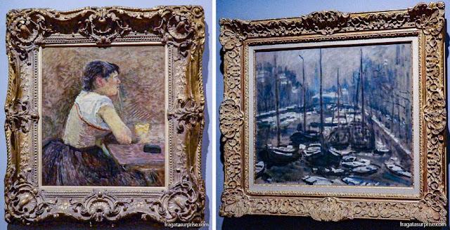 Obras de Toulouse-Lautrec e Monet, Museu Botero, Bogotá