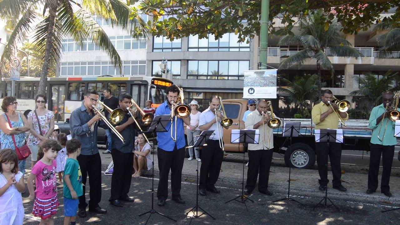 Музыка Рио де Жанейро на улице