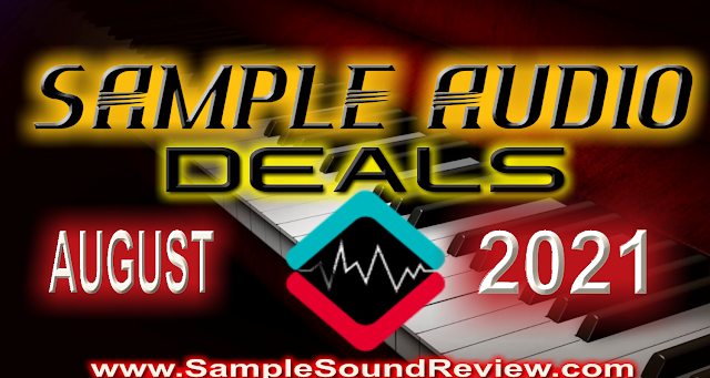 Sample Library Plugin deals August 2021