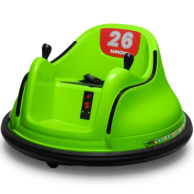 Walmart has Kidzone DIY 6V or 12V Electric Ride-on Bumper Car for $169.96
