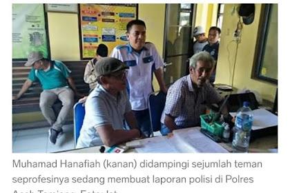 Jilakè Tèk-Tèk Wartawan, Wak Leng Tamiang Ka Jilapor Bak Peulisi