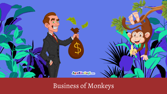 Story of Monkey Business | Moral Stories