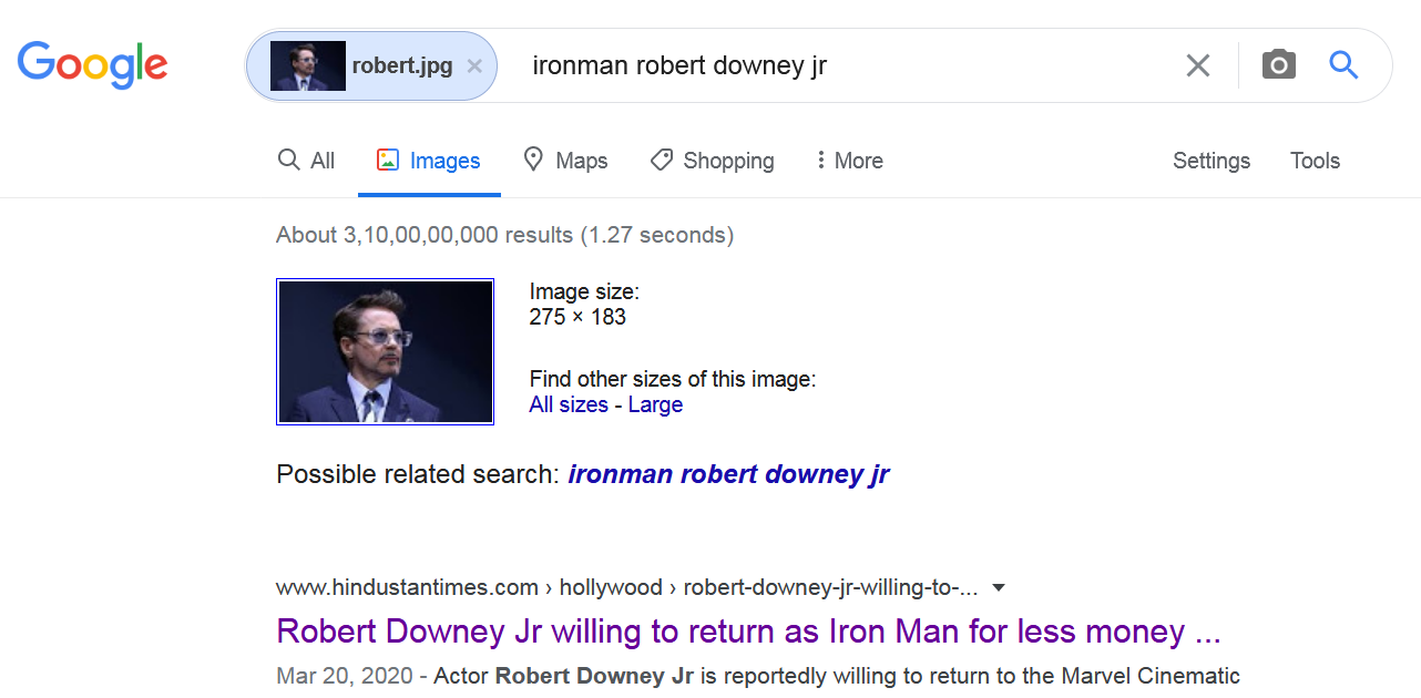 How to reverse image search - Thanalysis