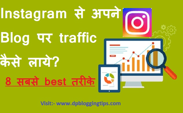 Instagram se traffic kaise laye