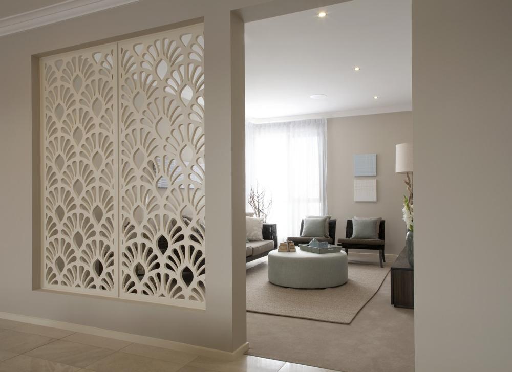 Dekorativa paneler MDF - Väggpaneler, Dekorativ Skiljevägg, Akustiska Paneler