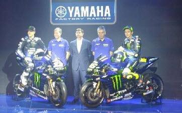 Nih Motor Balap Yamaha Yang Bakal Digunakan Rossi Dan Vinales