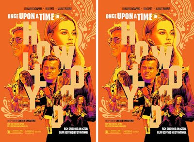 "One Upon a Time in Hollywood ""That Was The Best Acting I've Ever Seen In My Whole Life"" Movie Poster Screen Print by Joshua Budich x Spoke Art"