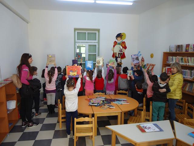 Συνεχίζονται οι επισκέψεις των Δημοτικών Σχολείων στη Δημοτική Βιβλιοθήκη Κρανιδίου