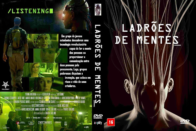 Capa DVD Ladrões De Mentes