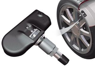 حساس ضغط الإطارات في السيارات