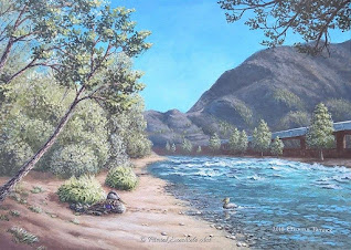Sosta in riva al fiume